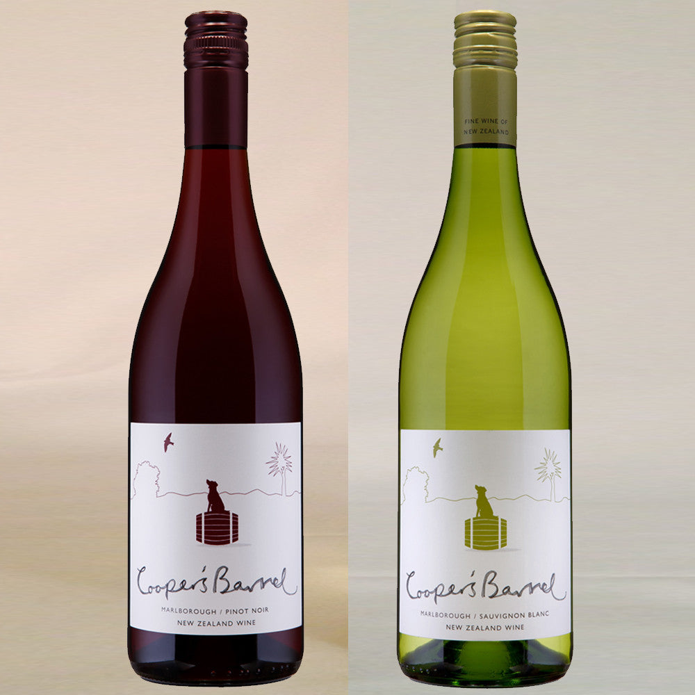 2 Bottle New Zealand Wine Gift by Post