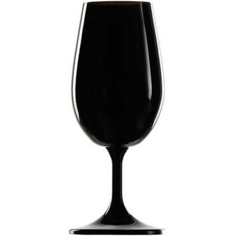 ISO 21.5cl Black Wine Tasting Glass