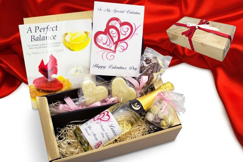 Personalised Love Valentine Hamper Luxury Valentine Gift