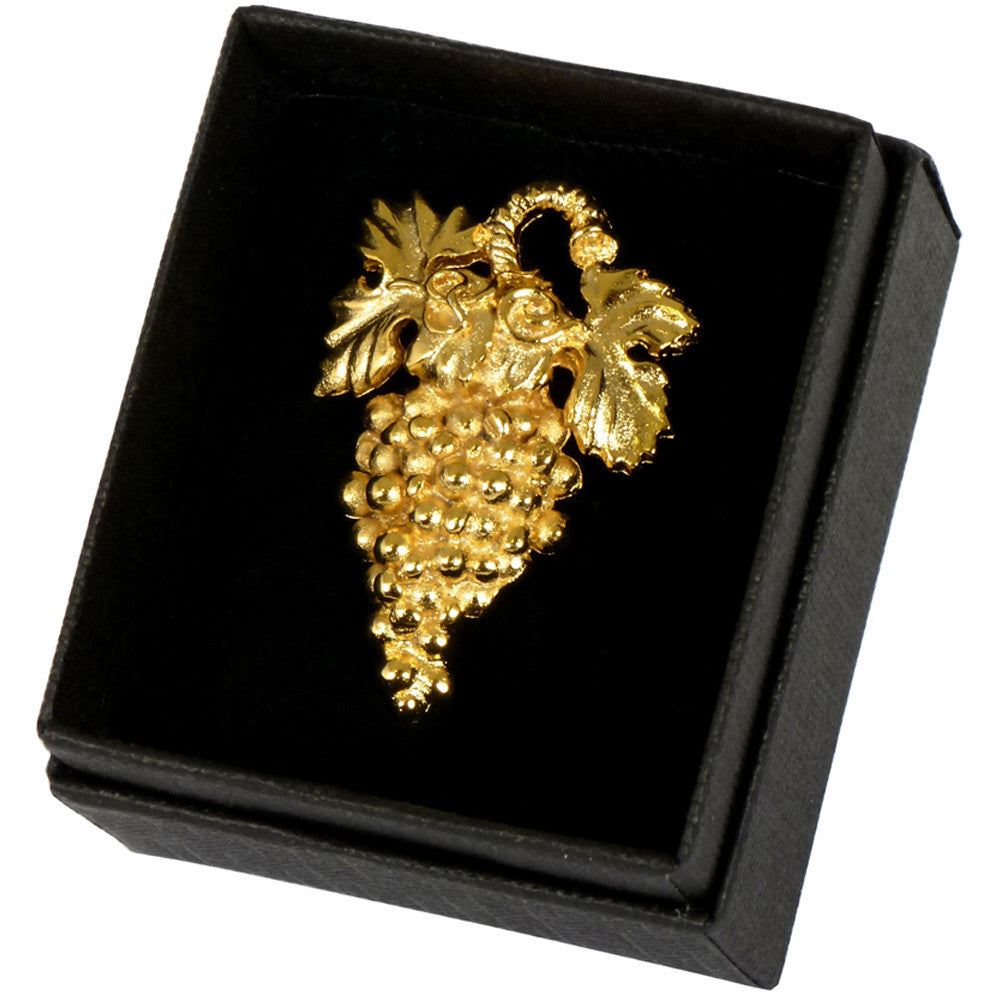 Sommelier Badge Deluxe, Gold Plate