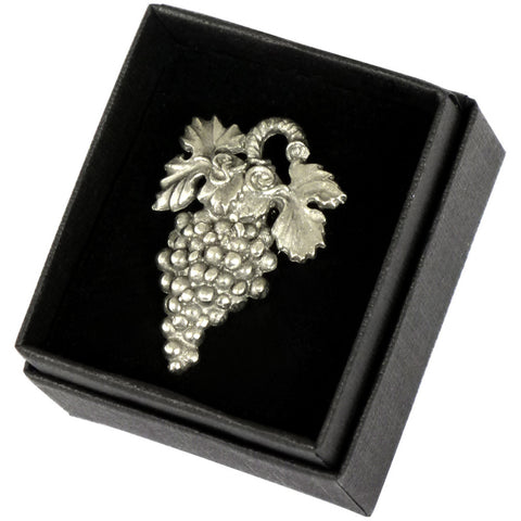 Sommelier Badge, Pewter Deluxe