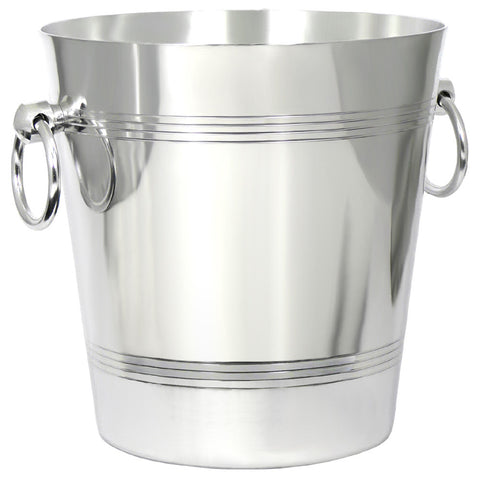 Wine Bucket Aluminium with Ring Handles