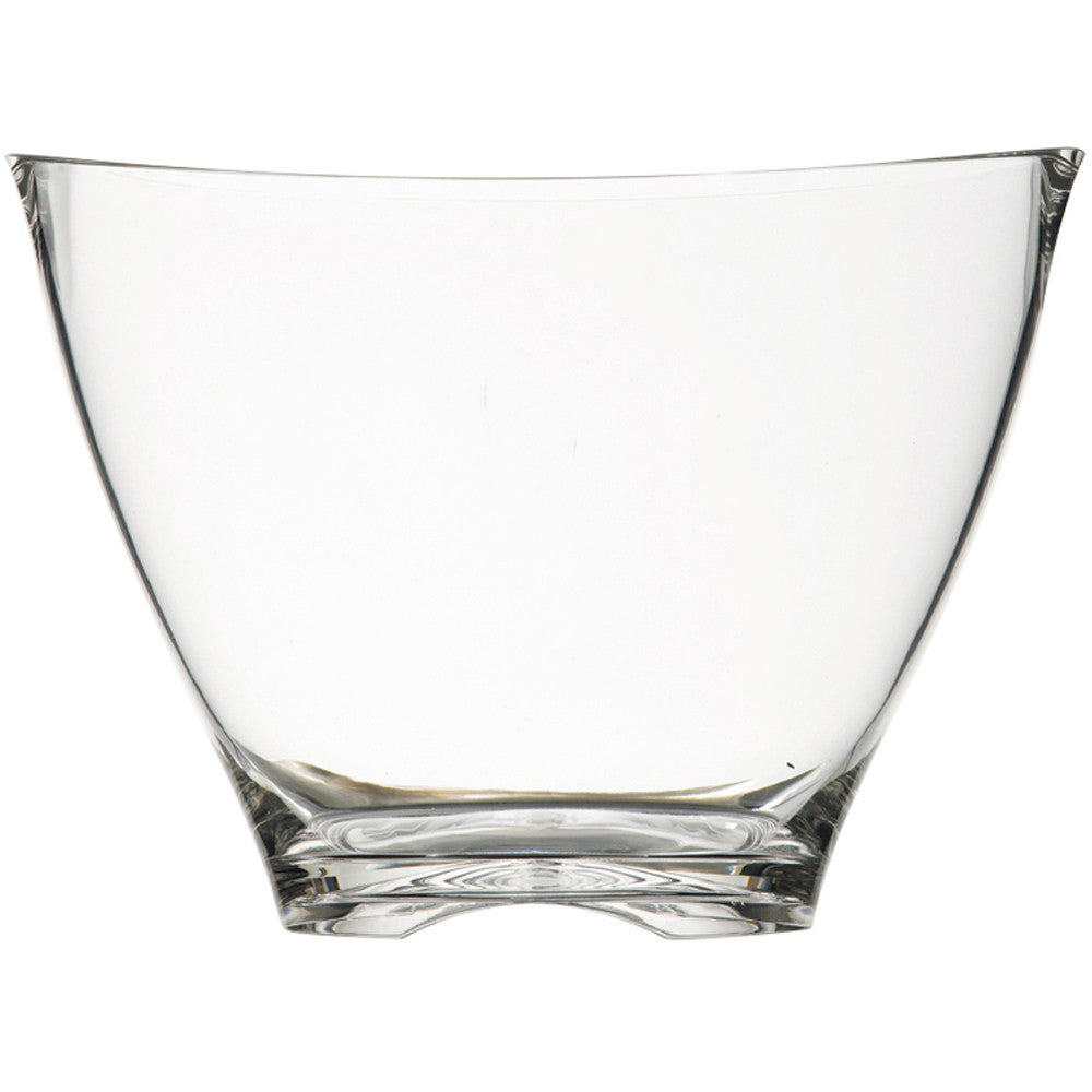 Wine Bucket Clear Plastic Oval