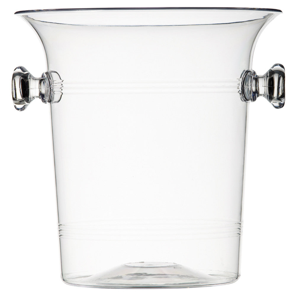 Wine Bucket, Clear Plastic