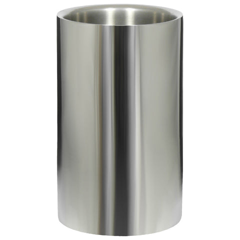 Wine Cooler, Double Wall, Polished Stainless Steel