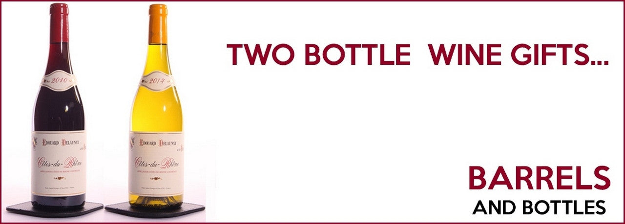 Two-Bottle Wine Gifts by Post