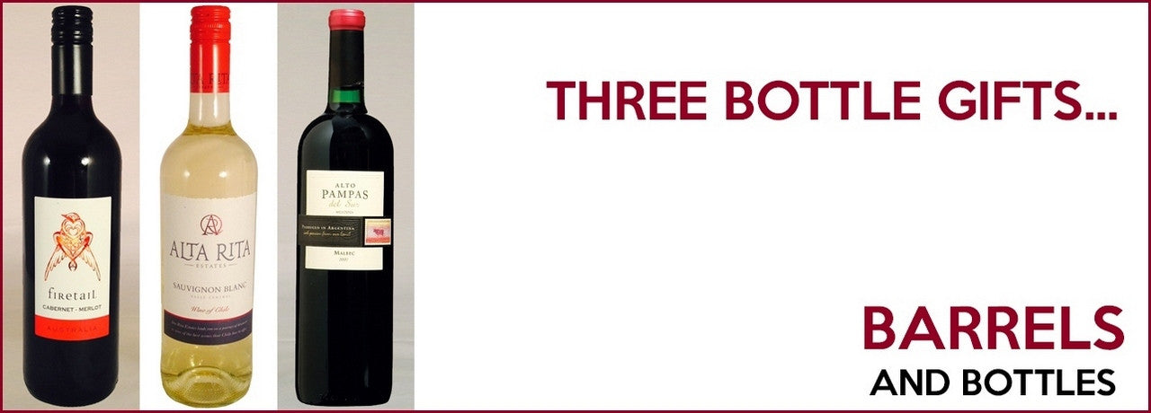 Three Bottle Wine Gifts