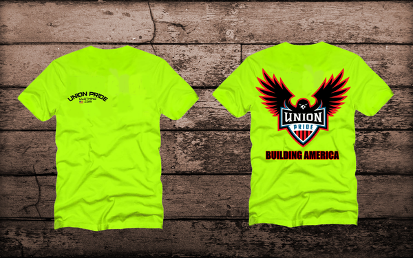 BUILDING AMERICA Short sleeve t-shirt