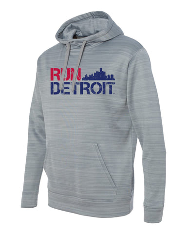 2017 Run Detroit Pullover Hoodie (Men)