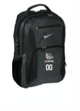 Hewlett Lax Black NIKE ELITE BACKPACK  WITH NUMBER EMBROIDERED