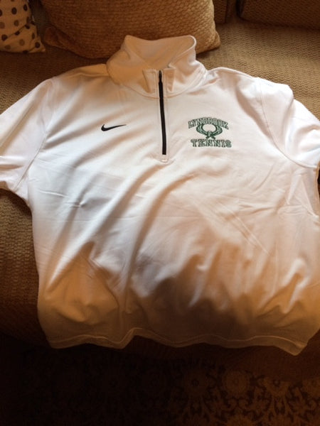 NIKE 1/4 ZIP W/ LYNBROOK TENNIS LOGO EMBROIDERED