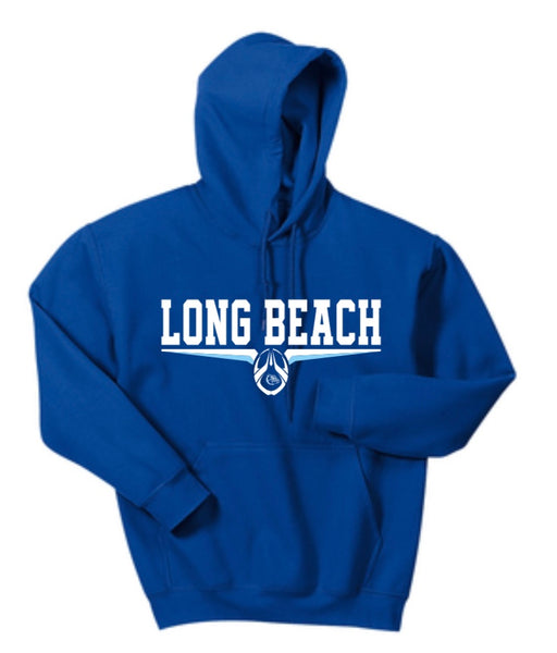ROYAL 100% COTTON HOODED SWEATSHIRT