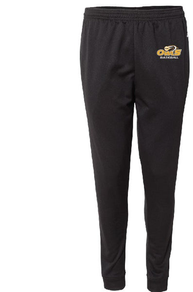 DRI FIT JOGGERS W/ LOGO LEFT LEG