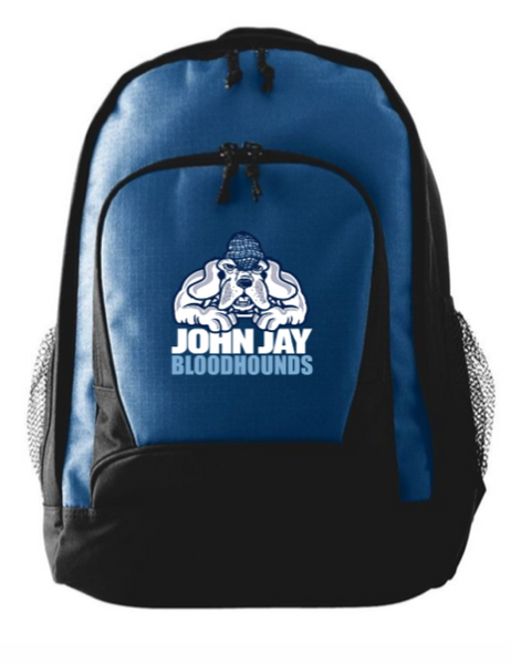 AUGUSTA NAVY  BACK PACK XL W/ BLOODHOUNDS  LOGO