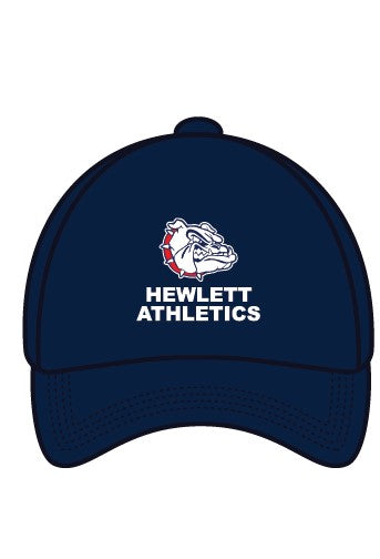 Hewlett Athletics BLUE HAT WITH EMBRODERY