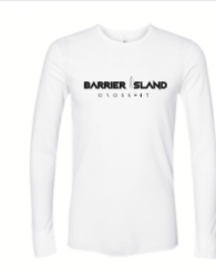 NEXT LEVEL UNISEX LONG SLEEVE THERMAL - WHITE