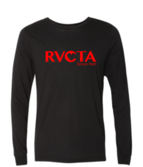 RVCTA Next Level Unisex Waffle Long Sleeve Shirt w/ logo