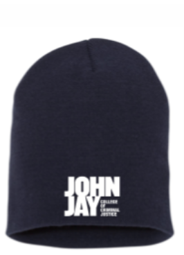 NAVY  W/ JOHN JAY  LOGO EMBROIDERED