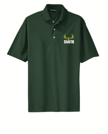 Green  DRI FIT EMBROIDERED  POLO SHIRT