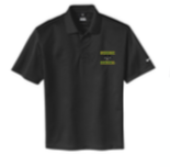 Lynbrook Baseball NIKE SIDELINE POLO BLACK W/ LEFT CHEST EMBROIDERY