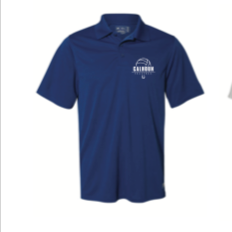 NAVY DRI FIT EMBROIDERED  POLO SHIRT