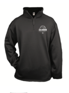 Badger Royal Dri Fit 1/4 zip embroidered