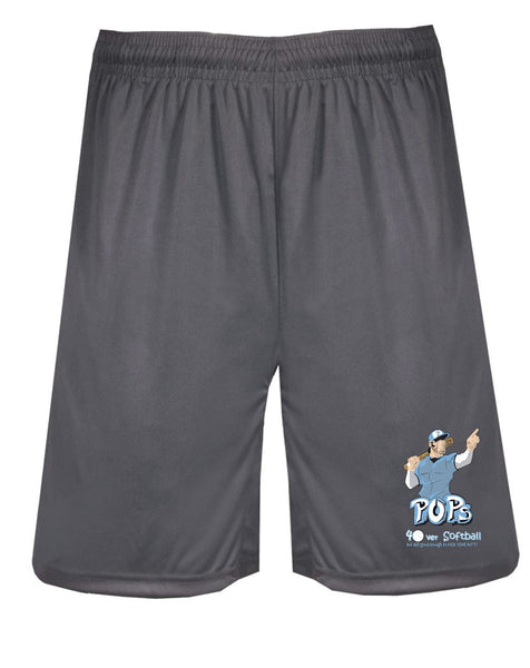 BADGER SHORTS  W/ POPS  LOGO