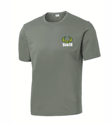 SportsTek Short Sleeve Dri Fit  T-Shirt w/ embroidery