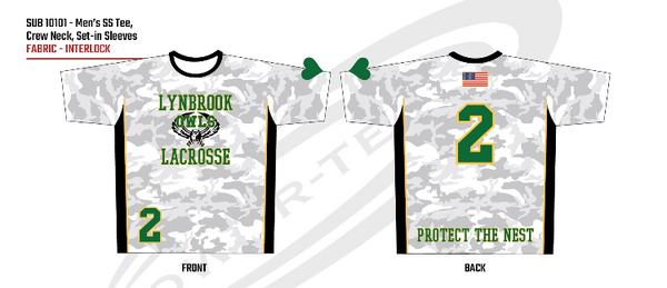 2020 LYNBROOK LAX SHOOTING SHIRT
