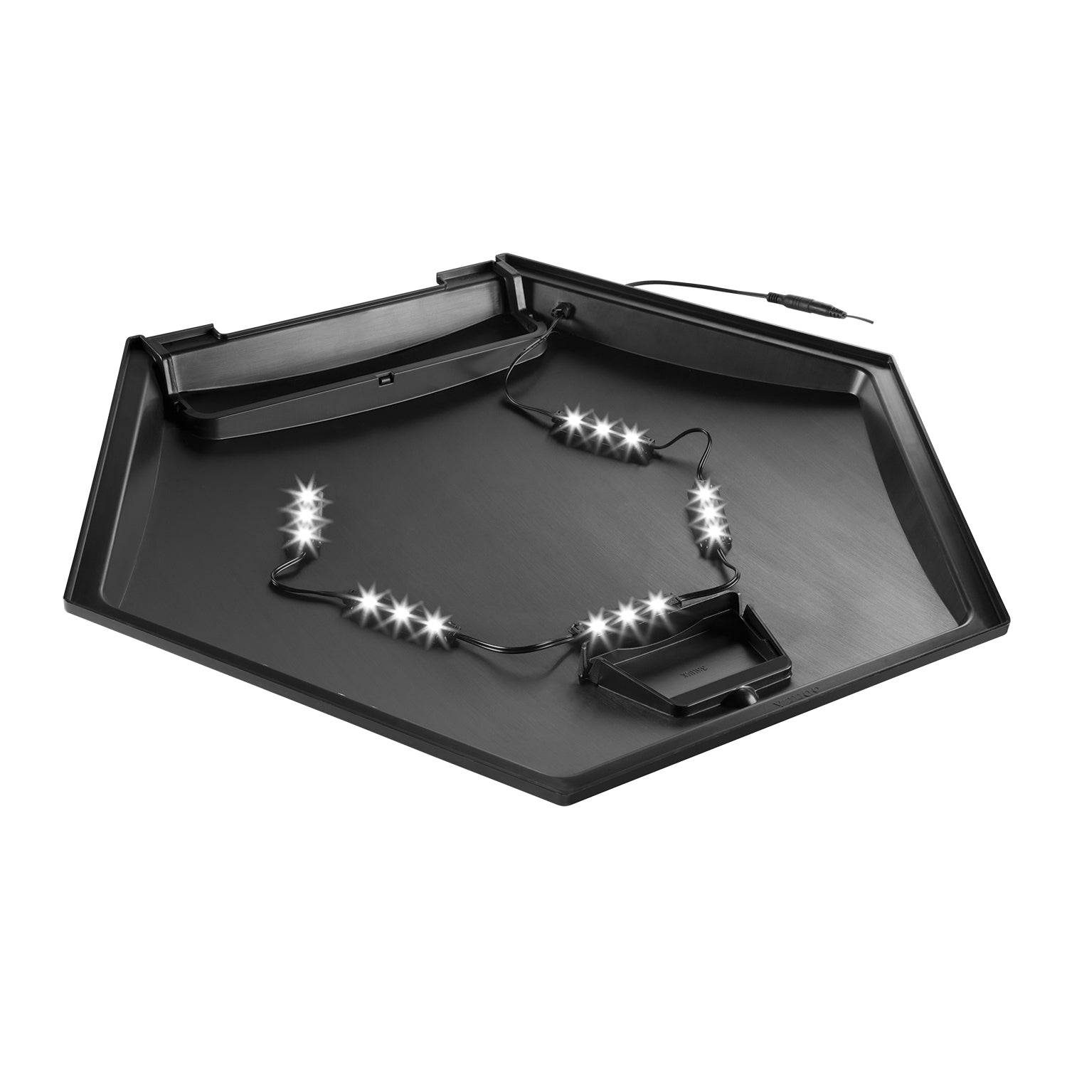 Aqueon 35 Hex Economy LED Hood with power adapter