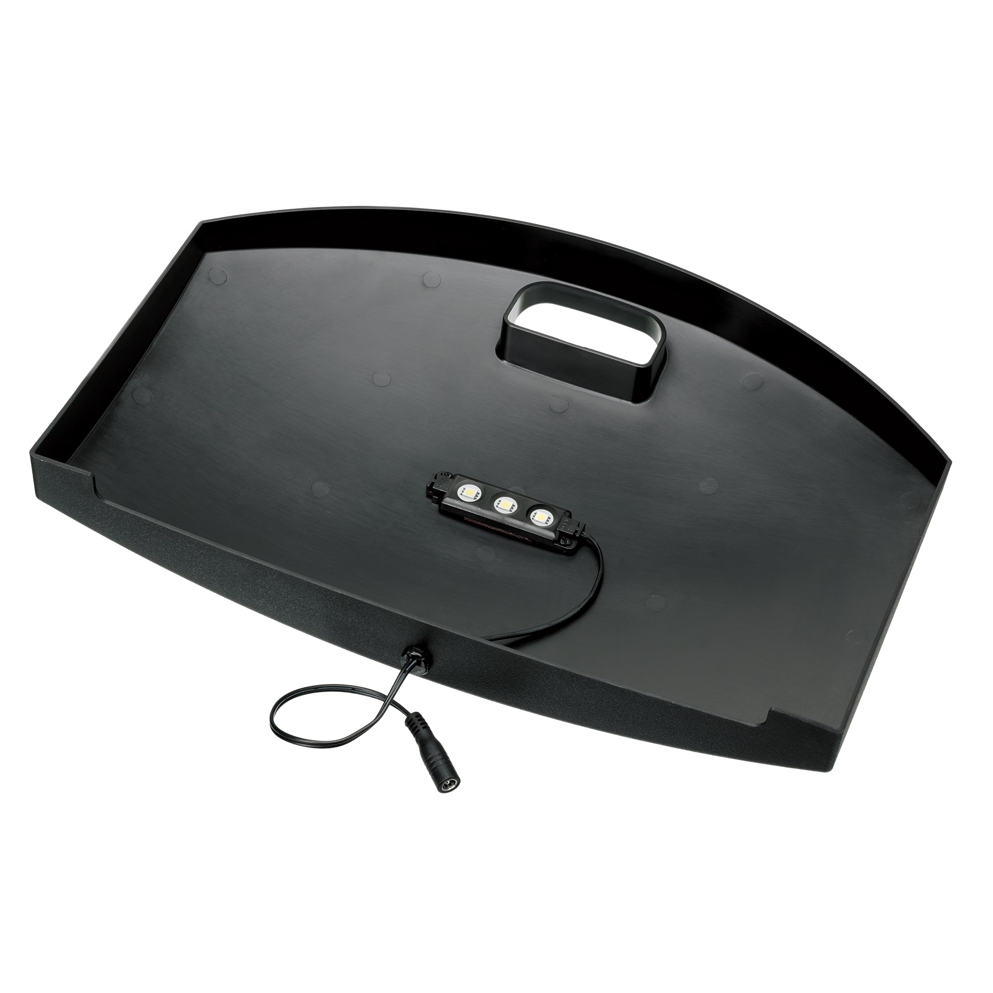Mini Bow 2.5 Black LED hood with power adapter