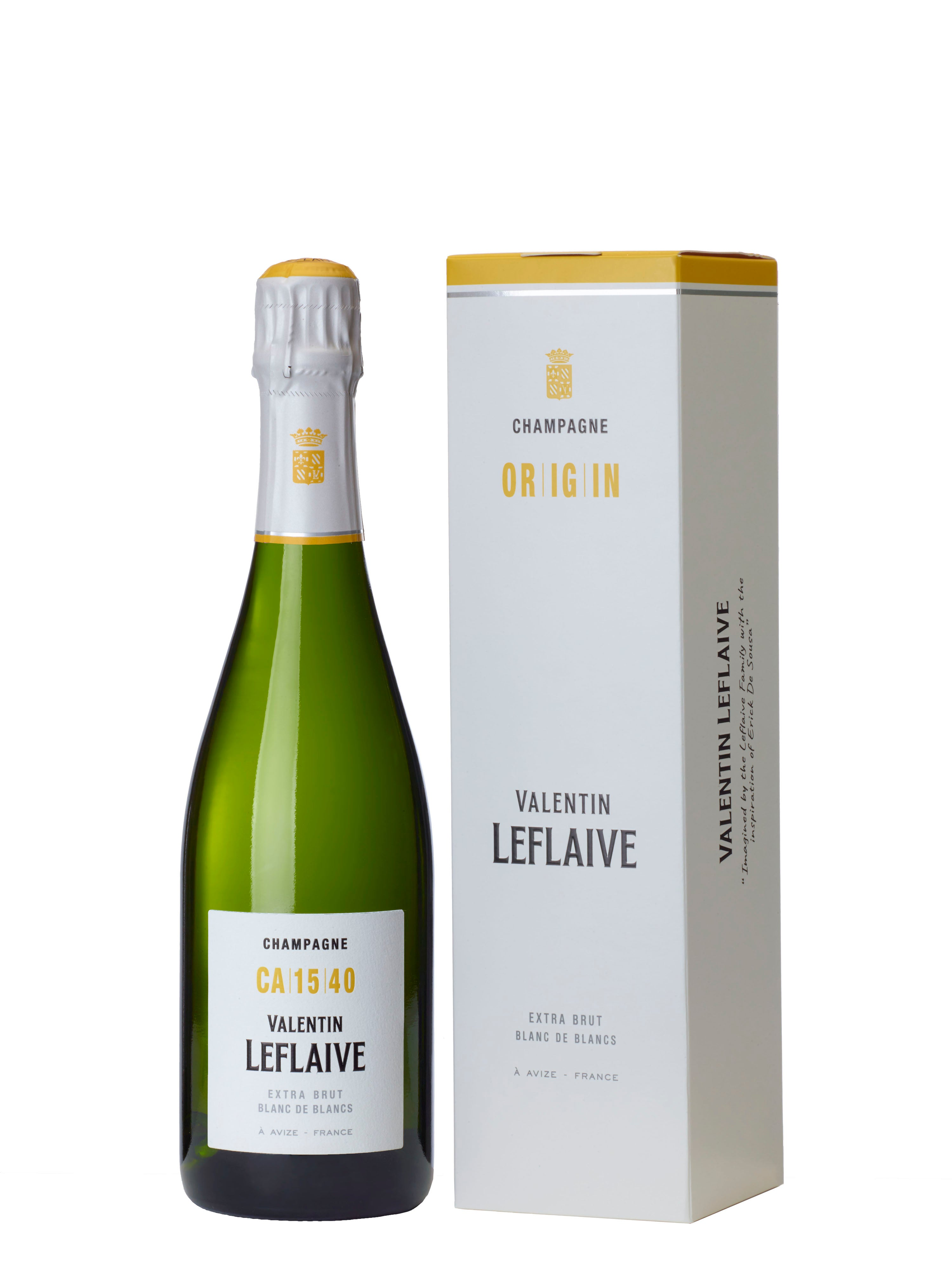 Champagne Valentin Leflaive Extra Brut CA1540