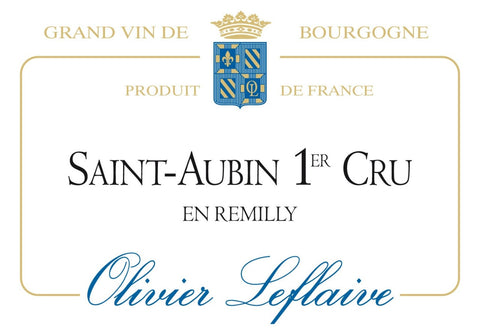 SAINT-AUBIN 1er Cru Remilly 2014
