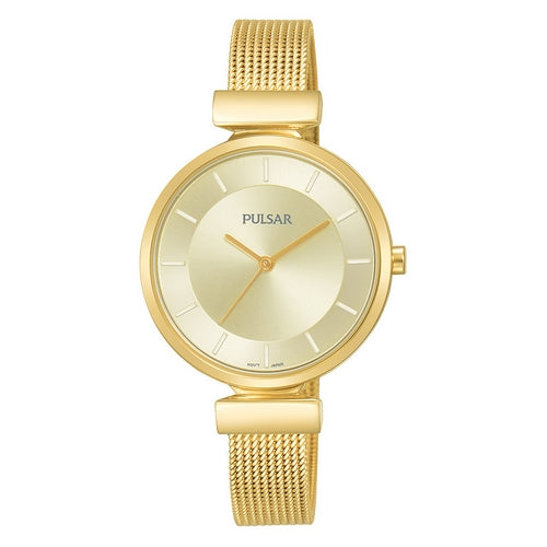 PH8412X1 - PULSAR - Ladies Gold Plated Bracelet - Seiko Store Ireland