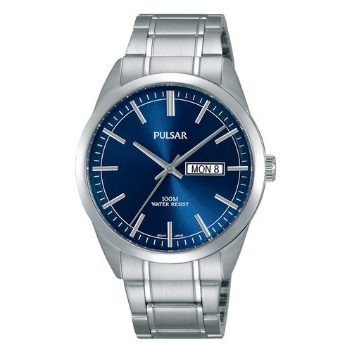 PJ6073X1 - PULSAR - Gents Stainless Steel Bracelet - seiko-store