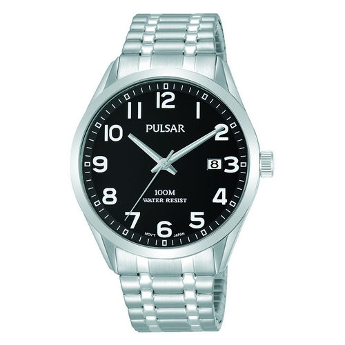 PS9563X1 - PULSAR - Gents Stainless Steel Bracelet - Seiko Store Ireland