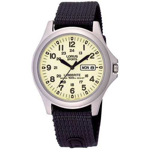 RJ655AX9 - LORUS - Gents Strap Watches - Seiko Store Ireland