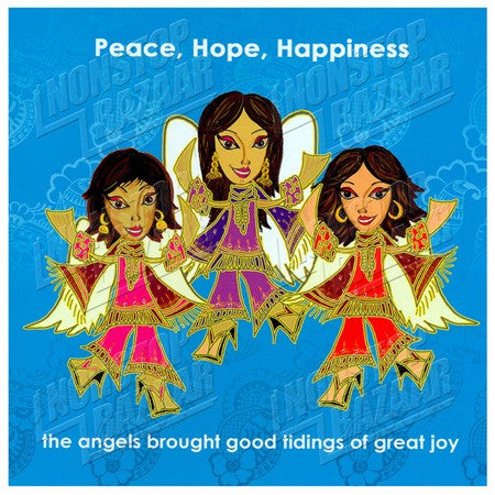 Peace, Hope, Happiness - 6 Pack
