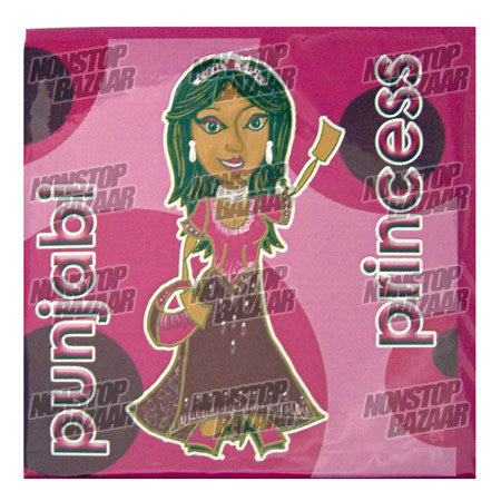 Punjabi Princess Card