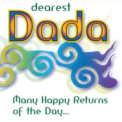 Dearest Dada Birthday Card