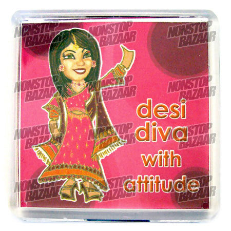 Diva With Attitude Magnet