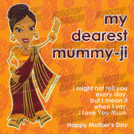 My Dearest Mummy-Ji Card