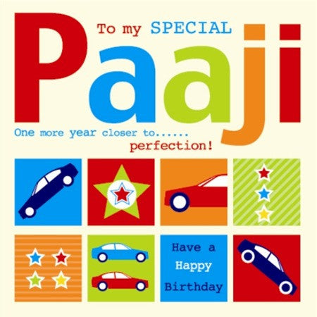 To My Special Paaji