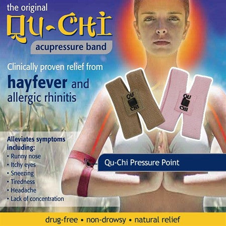Qu-Chi Acupressure Band - Instant Hayfever Relief