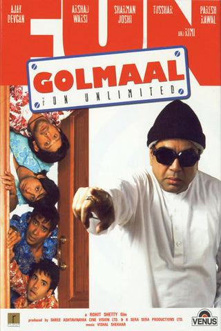 Golmaal - Fun Unlimited DVD