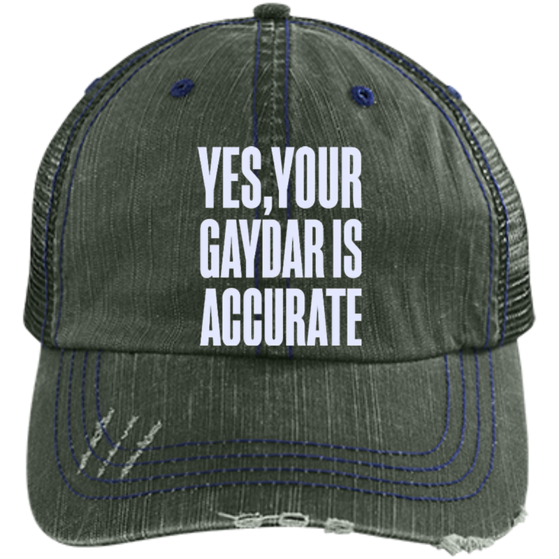 GAYDAR IS ACCURATE: LIMITED EDITION CAP