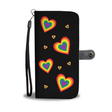 Load image into Gallery viewer, Pride Heart RFID Wallet