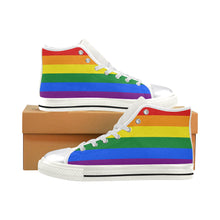 Load image into Gallery viewer, LGBT Rainbow Canvas Shoes || Women Size New Edition