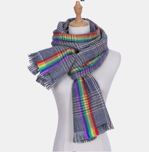 Load image into Gallery viewer, SPECIAl Handmade Winter Scarf+ Flag Combo