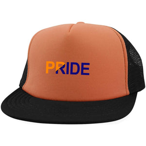 PRIDE District Trucker Hat with Snapback